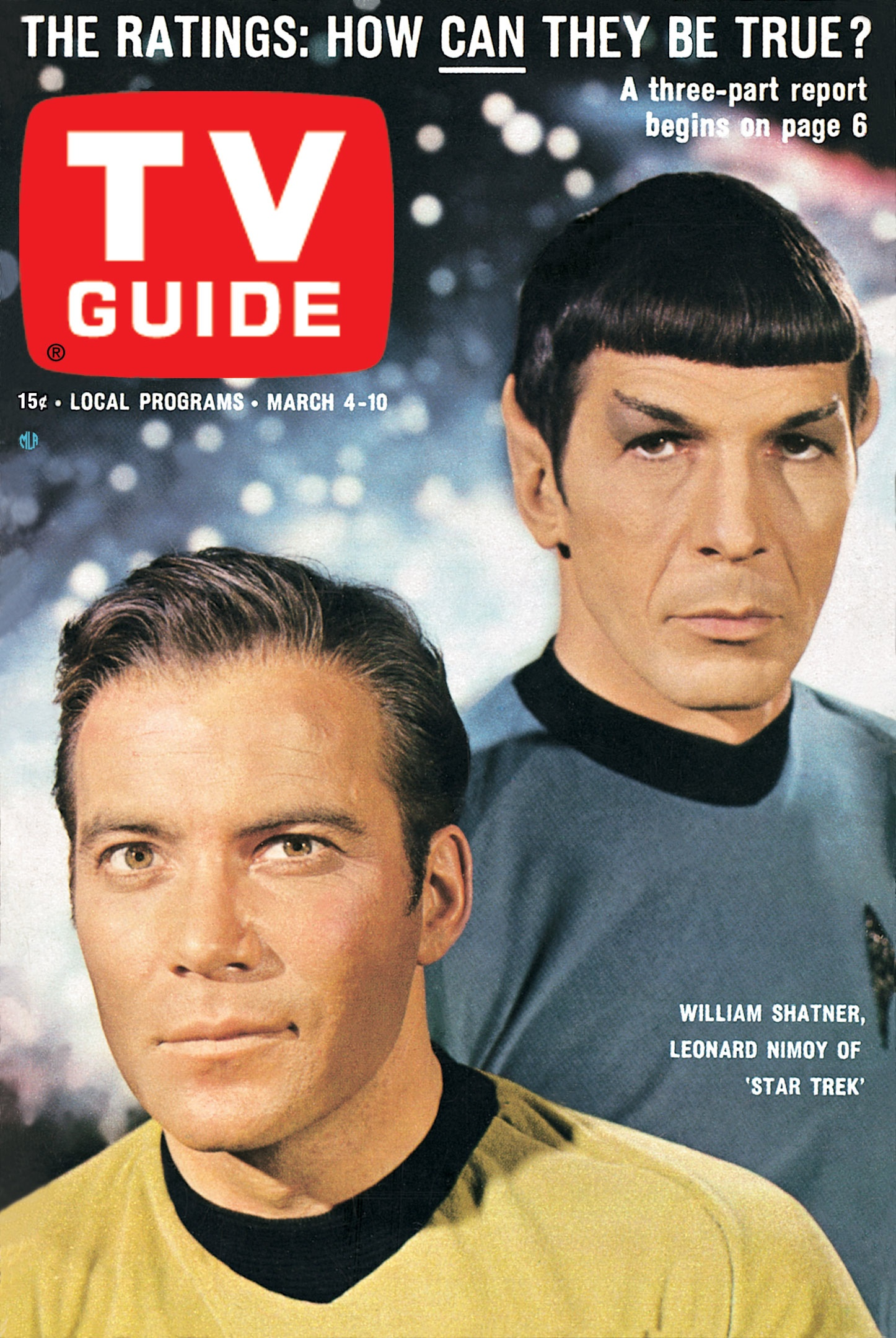 star trek s first tv guide cover mission log podcast rh missionlogpodcast com Life Magazine Cover This Week Life Magazine Cover This Week